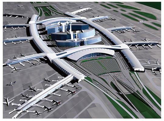 <b>双曲铝单板机场应用场景</b>